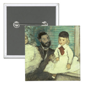 Comte Le Pic and his Sons 15 Cm Square Badge