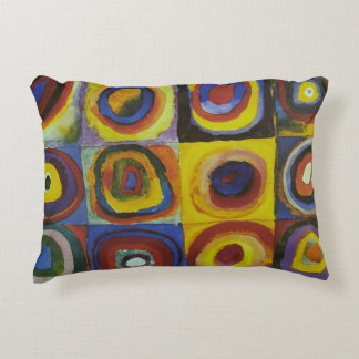 Concentric Circles, 1913 Accent Cushion