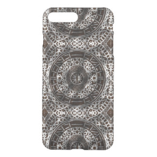 Concentric Circles Modern Tribal African chocolate iPhone 7 Plus Case