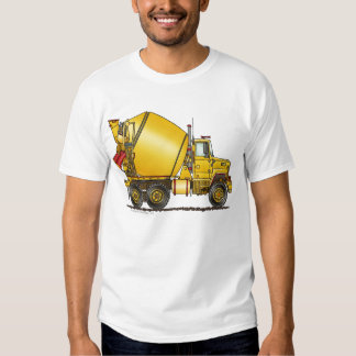 Concrete Mixer Truck Apparel T Shirt