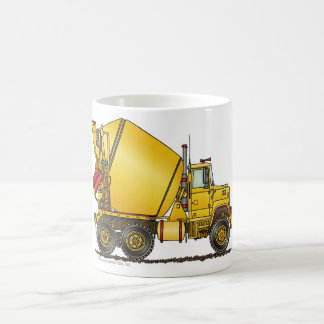 Concrete Mixer Truck Mugs