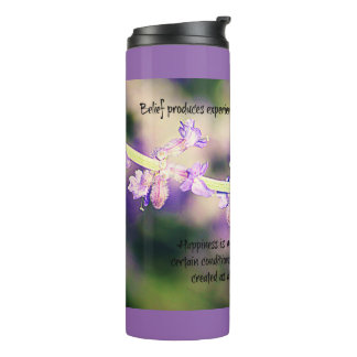 Conditions Created Lavender Thermal Tumbler