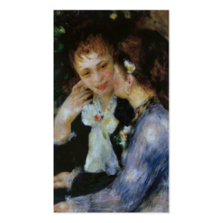 Confidences, Pierre-Auguste Renoir Pack Of Standard Business Cards