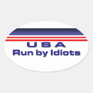 Congress Oval Sticker