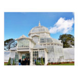 Conservatory Of Flowers In Golden Gate Park In San Postcard