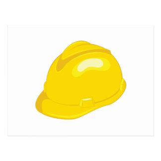 Construction Helmet Postcard
