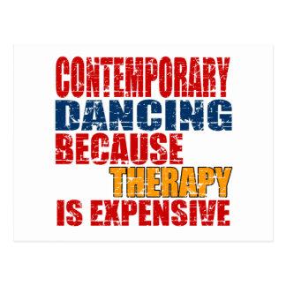 Contemporary Dance Designs Postcard