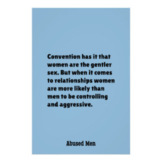 Convention Has It That Women Are … Poster