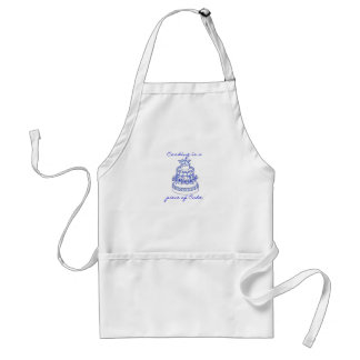 Cooking is a piece of Cake Standard Apron