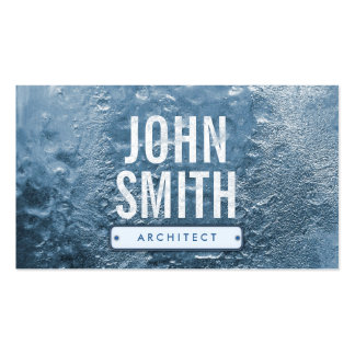Cool Ice Age Frozen Architect Business Card
