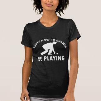Cool lawn bowl designs shirts