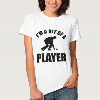 Cool Lawn bowling design T-shirt