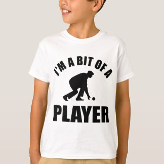 Cool Lawn bowling design Tees