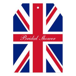 cool london fashion british flag union jack 13 cm x 18 cm invitation card