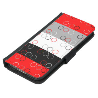 Cool patterned Galaxy s5 wallet case