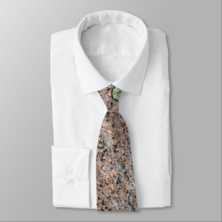Cool Rough Neutral Rock Texture with Green Moss Tie