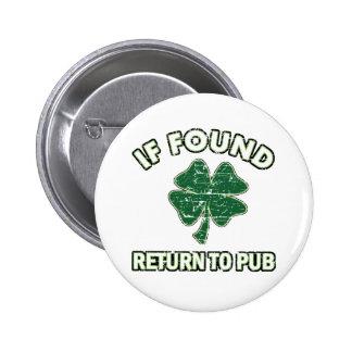 Cool St' Patrick's day designs 6 Cm Round Badge
