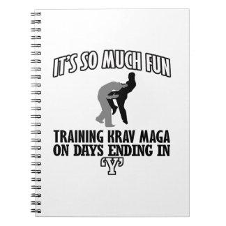 cool Trending Krav Maga DESIGNS Notebook