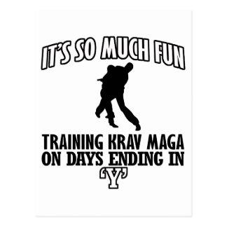 cool Trending Krav Maga DESIGNS Postcard