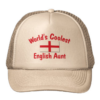 Coolest English Aunt Cap