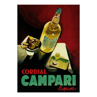Cordial Liqour ~ Vintage Alcohol Advertising. Poster