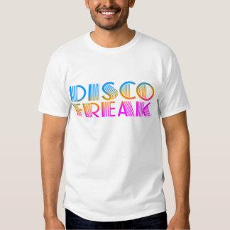 Corey Tiger 1980S Retro Disco Freak Multicolor Tshirt