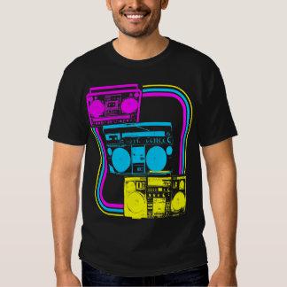 Corey Tiger 80s Retro Boombox Radio T-shirts