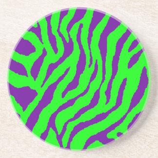 Corey Tiger 80s Retro Tiger Stripes Coaster