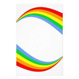 Corey Tiger 80s Vintage Rainbow Stationery Paper