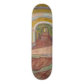 Corridor in the Asylum by Vincent Van Gogh 21.6 Cm Skateboard Deck