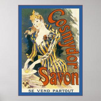 Cosmydor Savon ~ Vintage French Advertising Poster