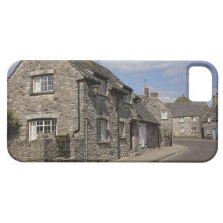 Cottages, Corfe Castle village, Dorset, England, iPhone 5 Covers