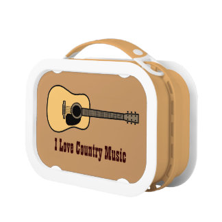 Country Music Lunch Boxes