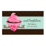 Couture Cupcake Bakery Business Cards
