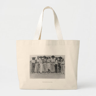 Cowgirls at Cheyenne Frontier Days, 1929. Jumbo Tote Bag
