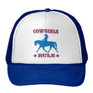 Cowgirls Rule (red/blue) Cap