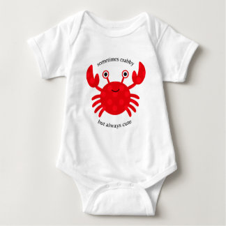 Crabby but Cute Infant Creeper