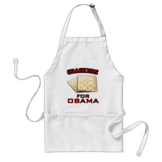 Crackers for Obama Standard Apron