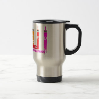 Crafted for Excellence SS Stainless Steel Travel Mug