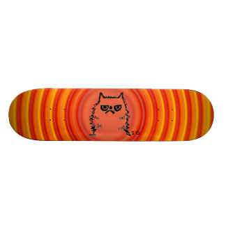 Cranky Cat Skateboards, Funny Skate Board Deck