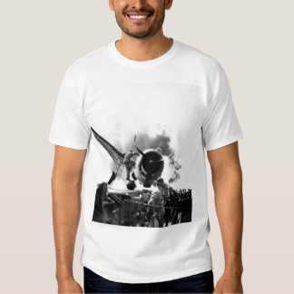 Crash landing of F6F on flight deck of_War Image Tees