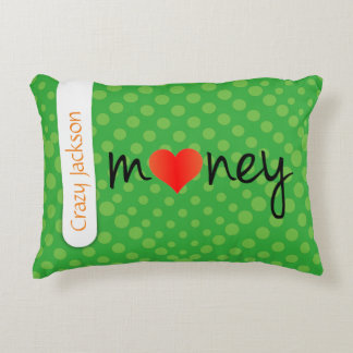 Crazydeal p417 cool crazy creative colorful money accent cushion