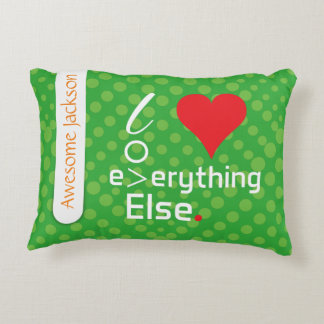 Crazydeal p421 cool crazy creative colorful love accent cushion