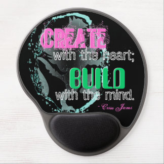 """Create With the Heart"" Alternative Gel Mousepad"