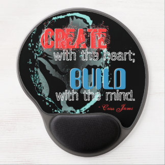 """Create With the Heart"" Gel Mousepad"