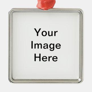 Create Your Own Premium Square Ornaments