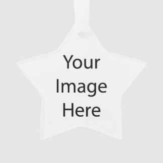 Create Your Own Star Acrylic Ornament