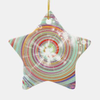 Creation Ceramic Star Decoration