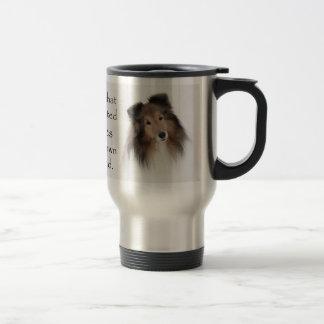 Creation of Shelties Stainless Steel Travel Mug