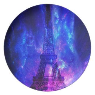 Creation's Heaven Paris Amethyst Dreams Party Plate